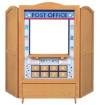 Guidecraft 4 in 1 Dramatic Play Theater - Post Office Panel