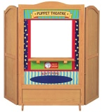 Guidecraft 4 in 1 Dramatic Play Theater